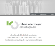 robert obermeyer consulting GmbH